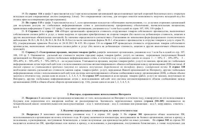 15  19. По строке 114 в графе 3 проставляется код 1 при использовании организацией предоставляемых третьей стороной беспла...