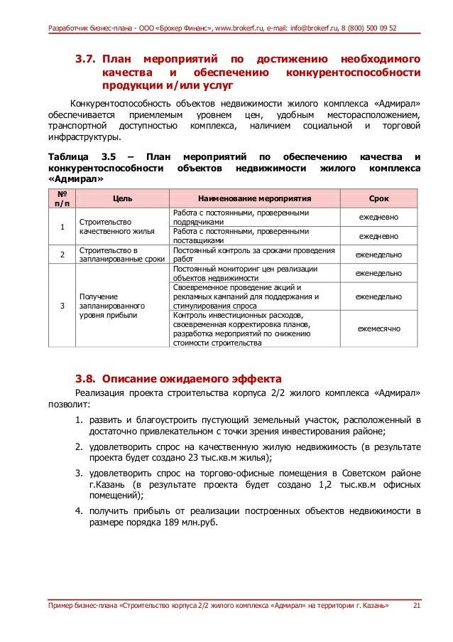 Бизнес план развития менеджера приказ об открытии фирмы