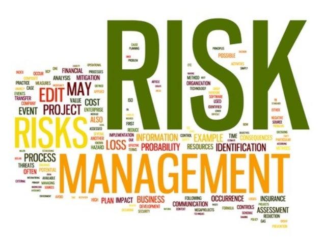 أدارة المخاطر