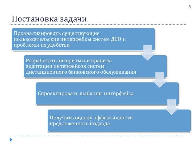 Дипломная работа Адаптивные пользовательские интерфейсы банковских с  Дипломная работа Адаптивные пользовательские интерфейсы банковских систем