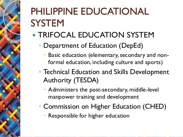 summary of philippine education system Primary, paaralang elementarya (elementary), 1, 6, 6, 12, 6, elementary school  covers the first six years of compulsory education (grades 1–6) informally.