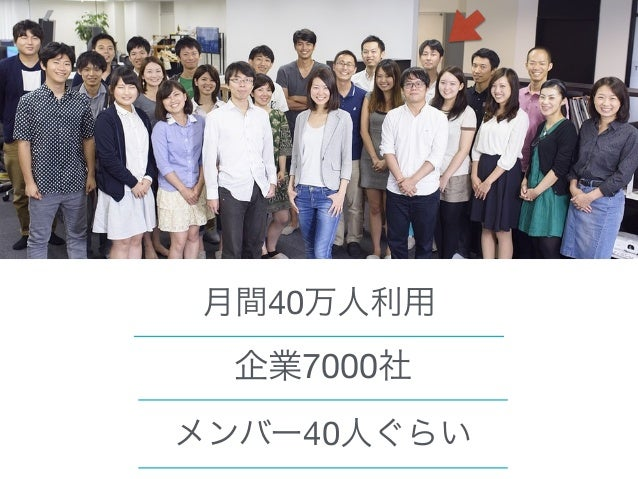 9 Wantedlyは今年海外進出します! 拠点の人