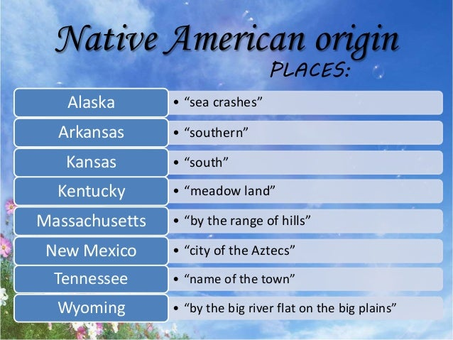The Origin Of American States' Names And Nicknames: States Of The Usa Nicknames At Usa Maps