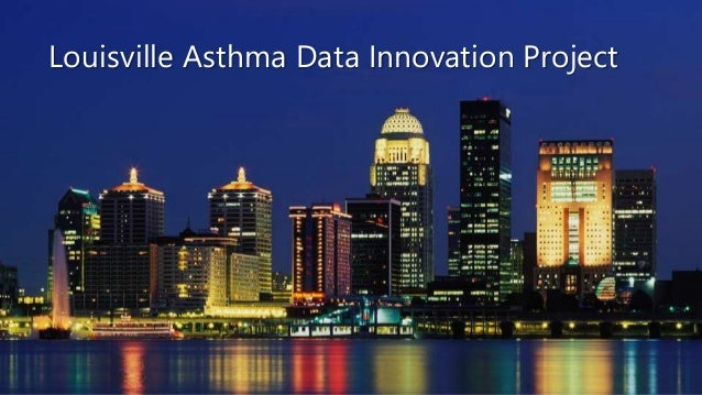 Louisville Asthma Data Innovation Project