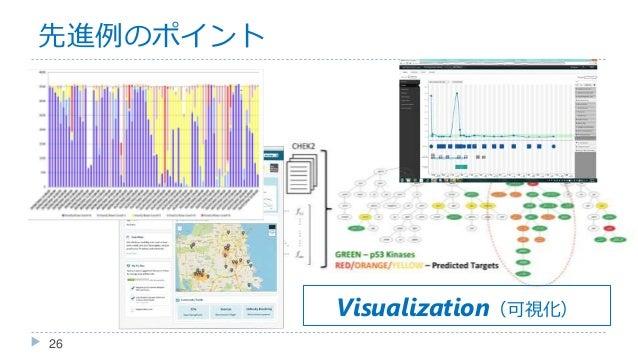 先進例のポイント 26 Visualization(可視化)