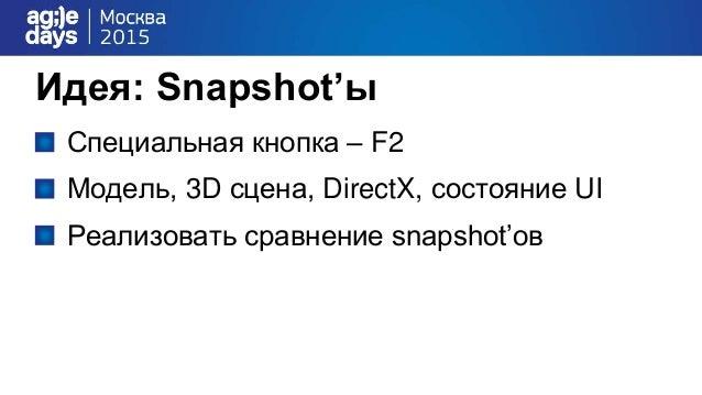 Архитектура U I Model 3D SceneDirectX