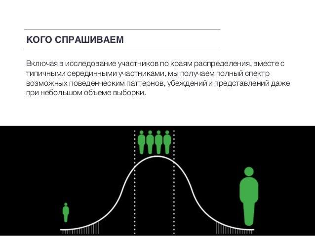 Включая в исследование участников по краям распределения, вместе с типичными серединными участниками, мы получаем полный с...