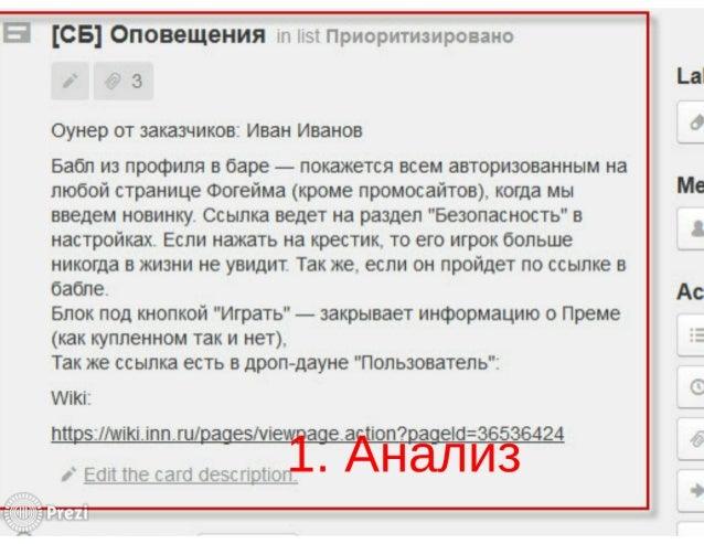 [СВ] ОПОВЭЩЭНИЯ   Гд:  .  (Ъ к 1 (Ъ  Оунер от заказчиков:  Иван Иванов  Бабл из профиля в баре — покажется всем авторизова...