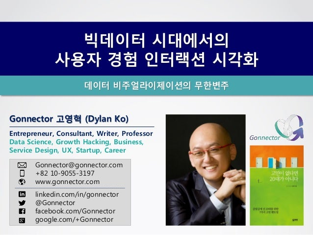 Gonnector 고영혁 (Dylan Ko) Entrepreneur, Consultant, Writer, Professor Data Science, Growth Hacking, Business, Service Desig...