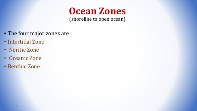 Four Ocean Zones Diagram Trusted Wiring Diagram