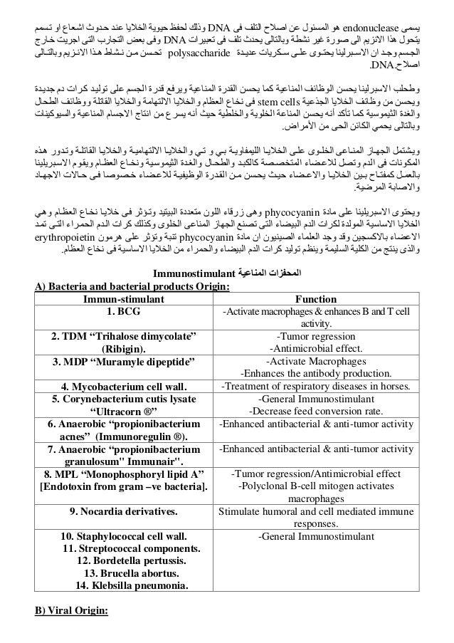 كتاب المناعة في الطيور دكتور فارس الخياط