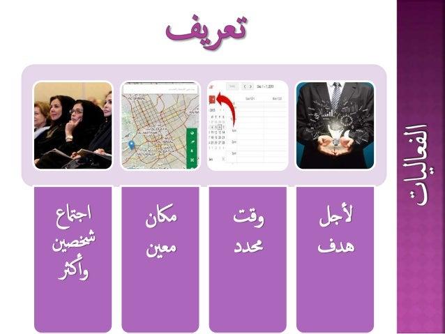 الفعاليات مهنة المرأة Slide 2