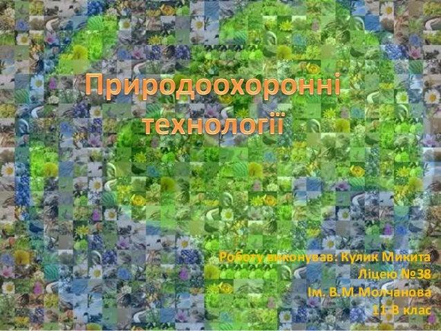 Роботу виконував: Кулик Микита Ліцею №38 Ім. В.М.Молчанова 11-В клас