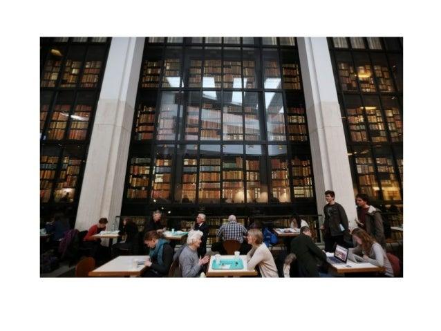 Некоторые примеры дизайна университетских библиотек Slide 3