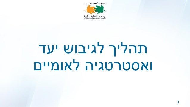 מצגת סיכום   גיבוש יעד לאומי Slide 3