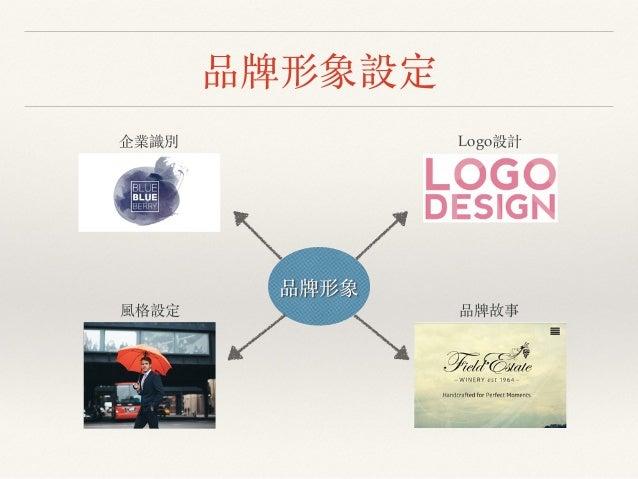 品牌形象設定 品牌形象 企業識別 Logo設計 風格設定 品牌故事
