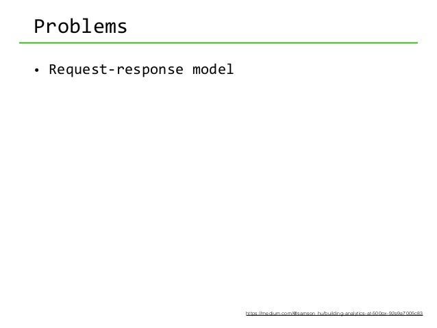 Problems • Request-‐response  model   • Long  innovation  cycle   • EAAB  (engineer  as  a  bottleneck)...