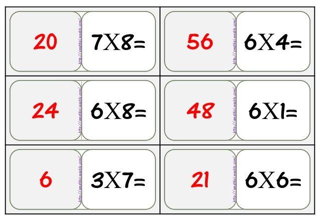 36Αρχθ 6Χ8=24 7Χ8= 6Χ4=56 3Χ7=6 6Χ1=48 6Χ6=21 20 http://emathisi.weebly.com/ http://emathisi.weebly.com/ http://emathisi.w...