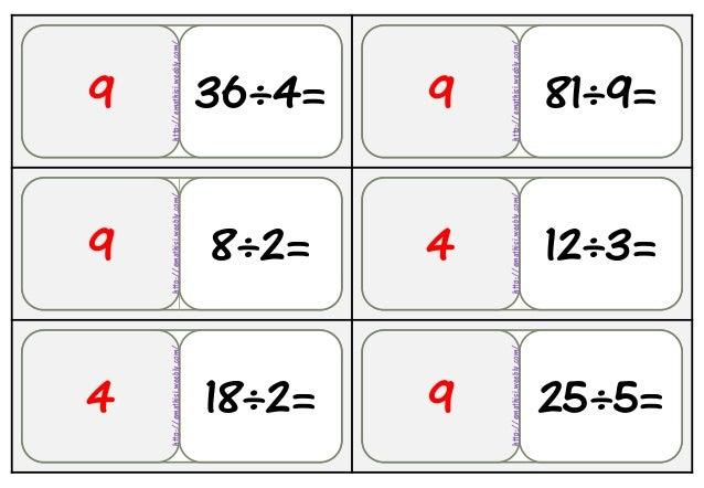 36Αρχθ 8÷2=9 36÷4= 81÷9=9 18÷2=4 12÷3=4 25÷5=9 9 http://emathisi.weebly.com/ http://emathisi.weebly.com/ http://emathisi.w...