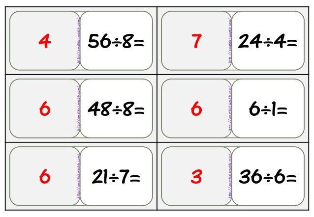 36Αρχθ 48÷8=6 56÷8= 24÷4=7 21÷7=6 6÷1=6 36÷6=3 4 http://emathisi.weebly.com/ http://emathisi.weebly.com/ http://emathisi.w...