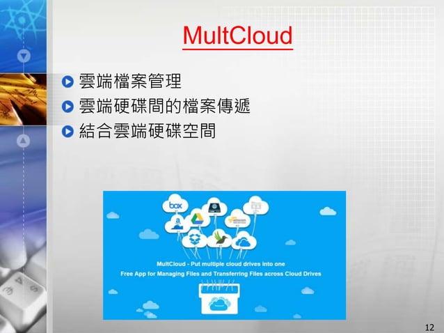 MultCloud 雲端檔案管理 雲端硬碟間的檔案傳遞 結合雲端硬碟空間 12
