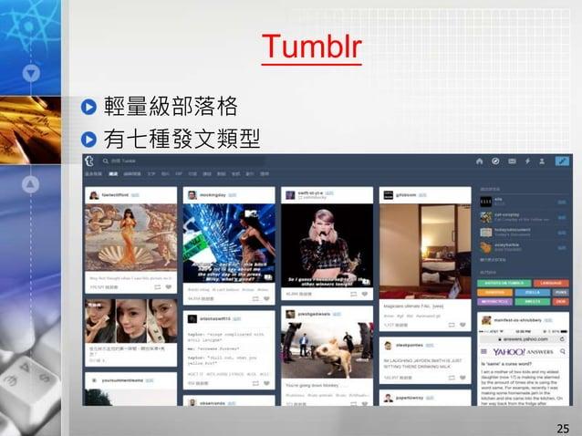 Tumblr 輕量級部落格 有七種發文類型 25