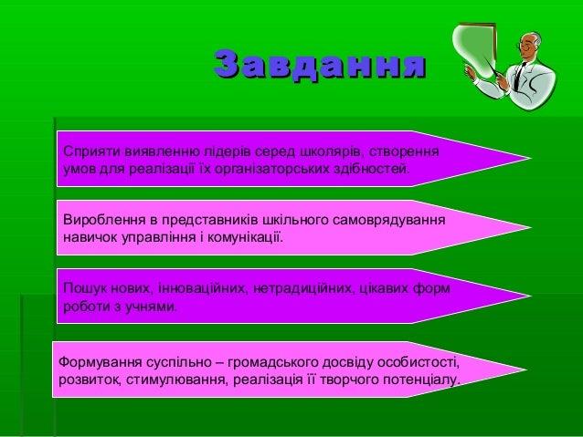 Презентація учнівського самоврядування Туменського НВК