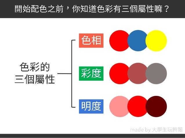【簡報的配色魔法(一)理論篇】 Slide 2