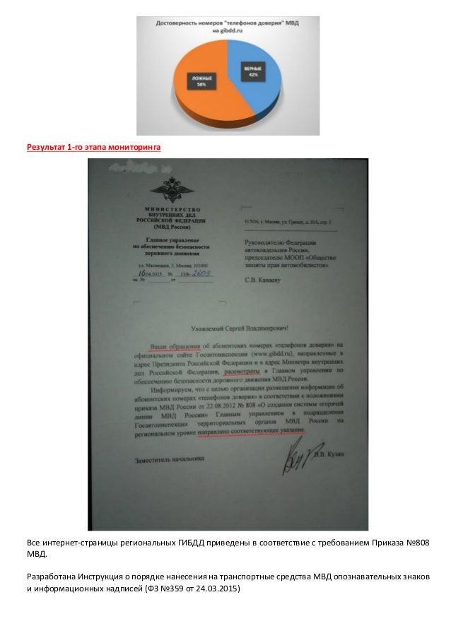 Итоговый отчет по мониторингу подразделений МВД в 2015г. Slide 2