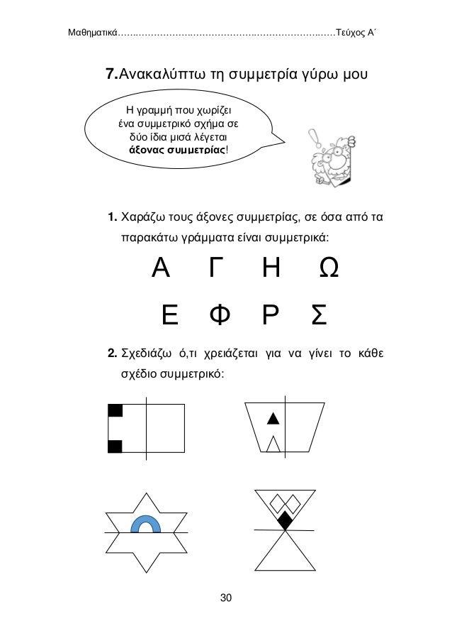 Μαθηματικά………………………………………………………………Τεύχος Α΄ 31 ΕΝΟΤΗΤΑ 2 1.Βρίσκω το μισό και το διπλάσιο (0 – 100) ΤΟ ΜΙΣΟ 40 42 20 20 40...