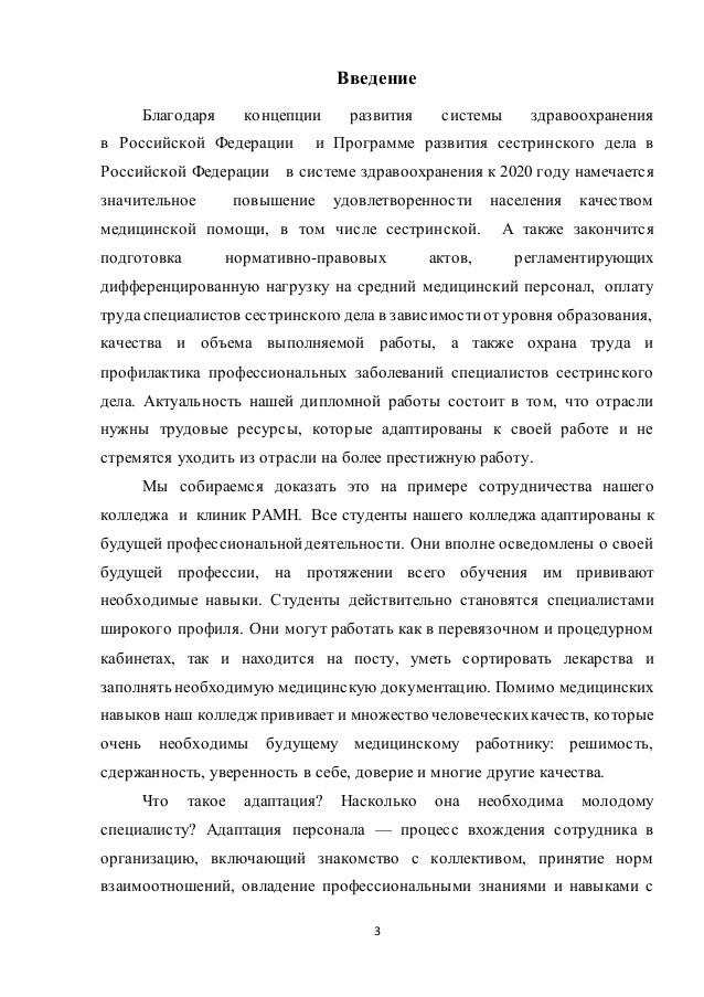 Дипломная работа Колдышевой Ирины Алексеевны 3