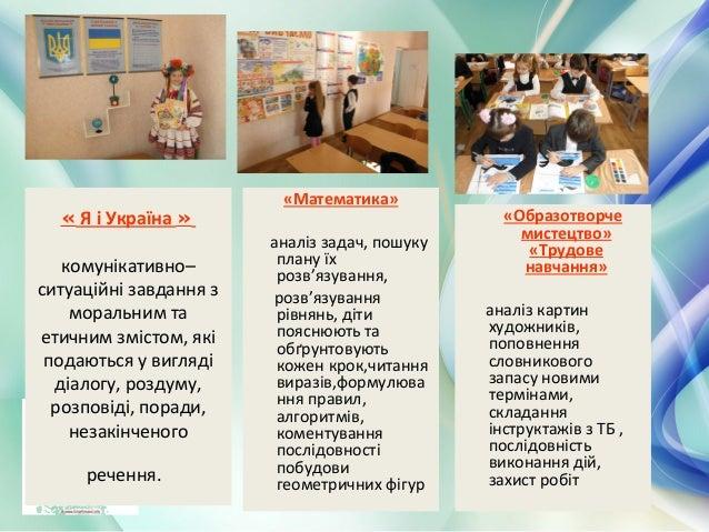 « Я і Україна » комунікативно– ситуаційні завдання з моральним та етичним змістом, які подаються у вигляді діалогу, роздум...