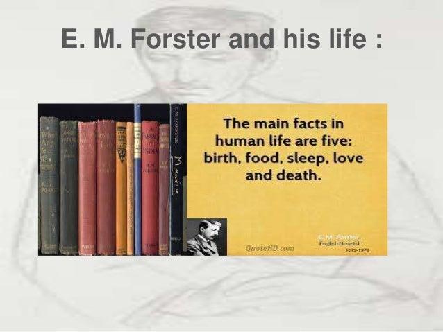 E.M.Forster Slide 3