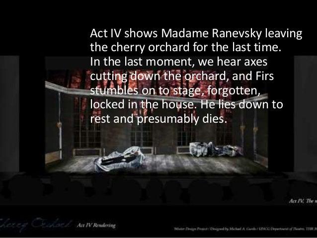 the cherry orchard summary
