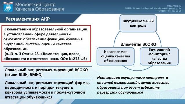 Административная контрольная работа МЦКО 3