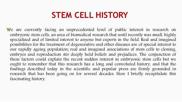 STEM CELL CULTURE  Slide 3