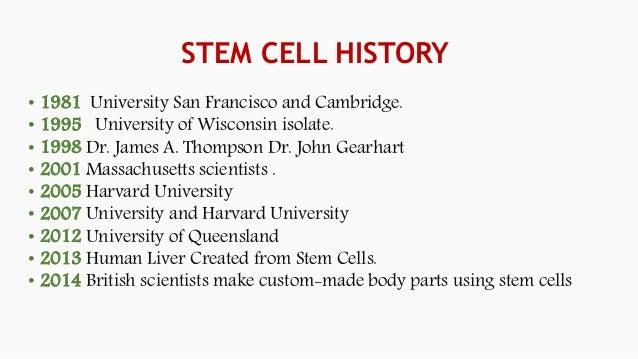 Stem Cell Culture