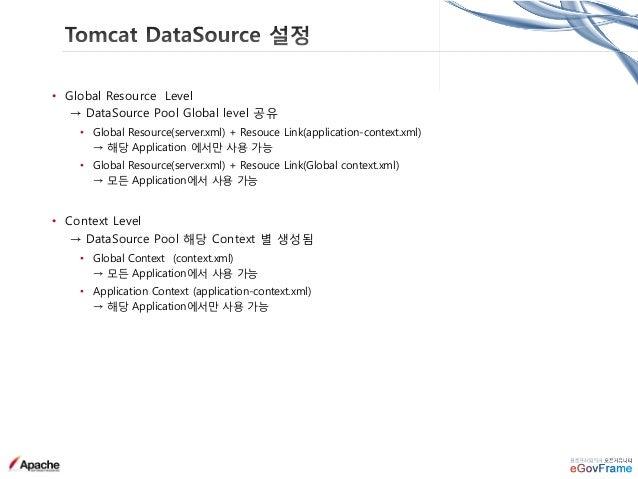 • 웹서버 연동 방법 • mod_proxy - http://httpd.apache.org/docs/2.4/mod/mod_proxy.html • mod_jk - http://tomcat.apache.org/connecto...