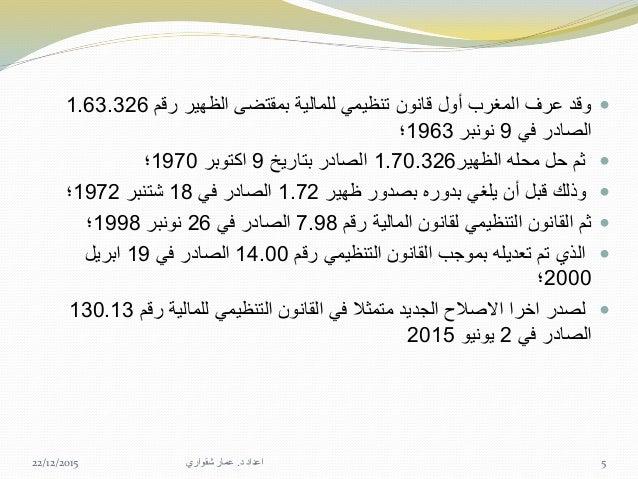 تساؤالت: هذا إصالح فيه جاء الذي العام السياق هو ما؟ القانون هذا في المتضمنة المستجدات ه...
