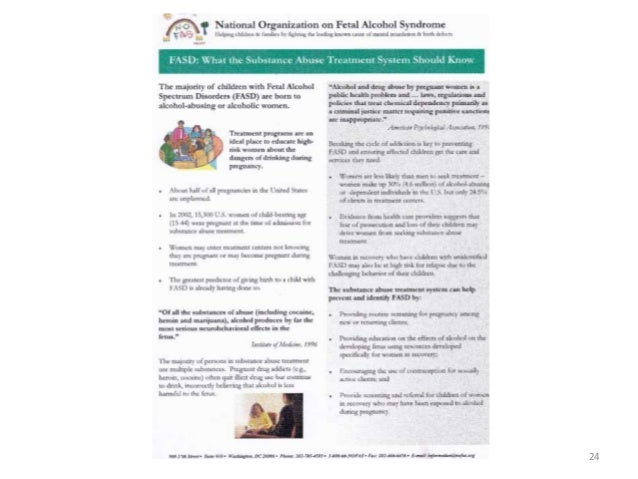 Fetal alcohol syndrome research paper