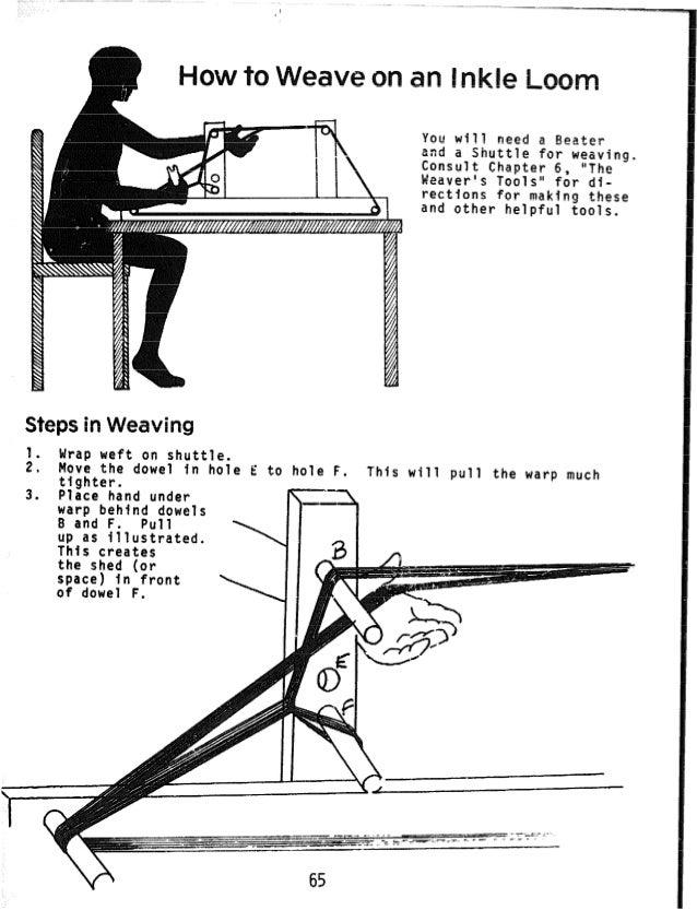 비전문가를 위한 손베틀 제작 방법 안내서
