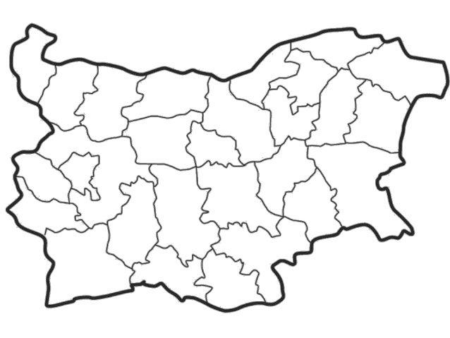 Karta 2019 Prazna Karta Na Blgariya