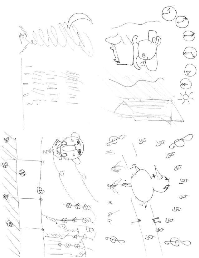 春晓 手绘图