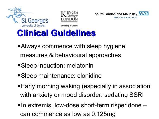 Anyone familiar with giving 6yr old Clonidine to sleep?