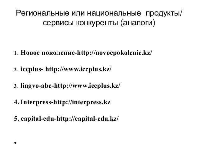 кабдыкаримова айгерим+студия по изучению иностранных языков+предпринематели(школы и студии) Slide 3