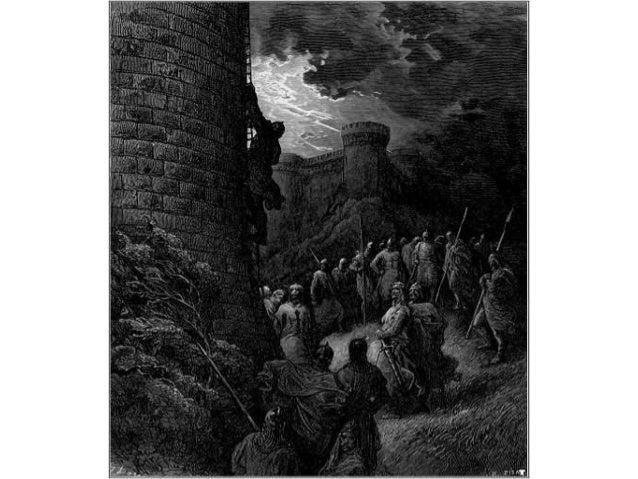 Α΄ Σταυροφορία • H Πρώτη Σταυροφορία διήρκεσε τρία χρόνια, από το 1096 ως το 1099. Είχε ως αποτέλεσμα την κατάκτηση της Ιε...