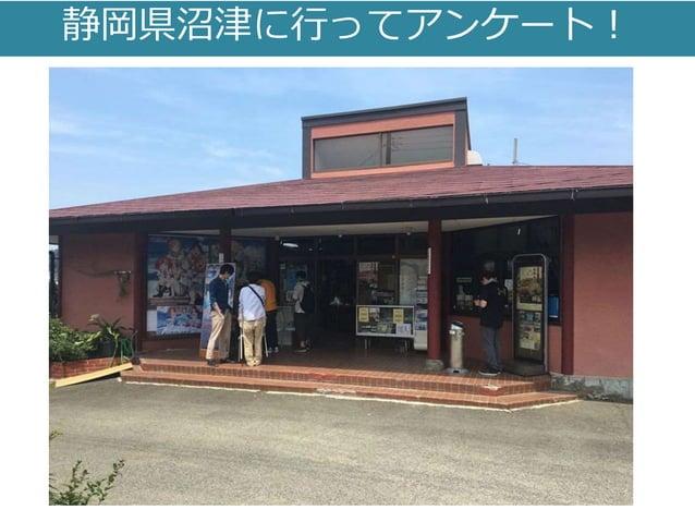 静岡県沼津に行ってアンケート!