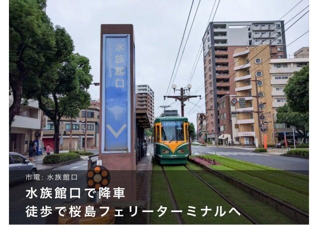 レインボー桜島への行き方 Slide 2