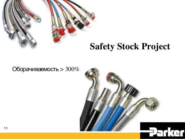 11 Safety Stock Project > 300%Оборачиваемость