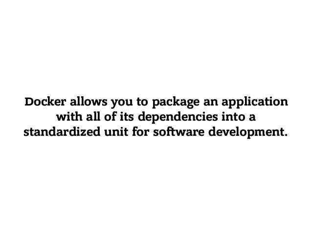 Dockerfile Input Output
